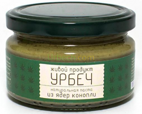 Урбеч сырой из конопли конопля алтайская